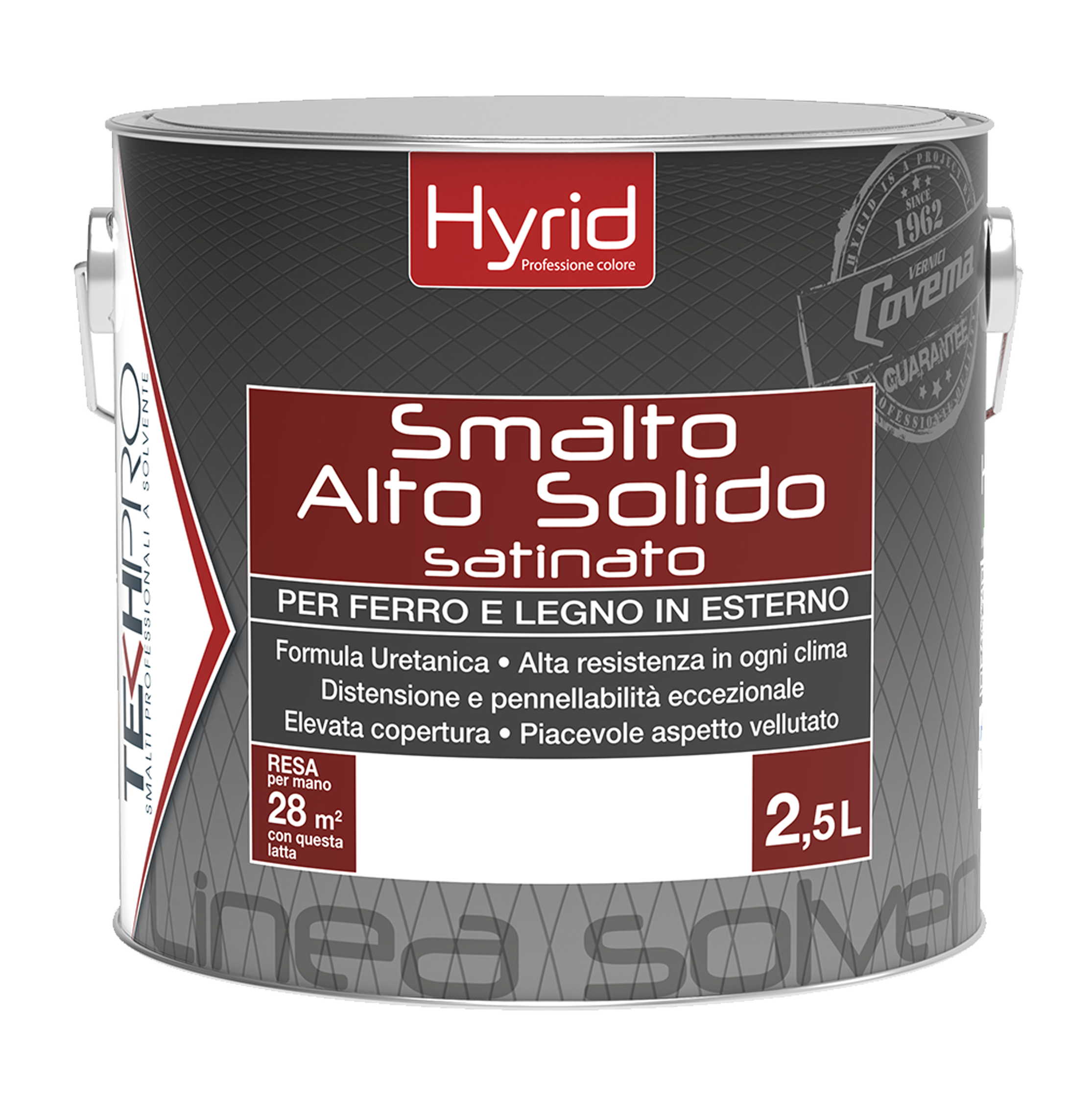 Hyrid Smalto Alto Solido Satinato