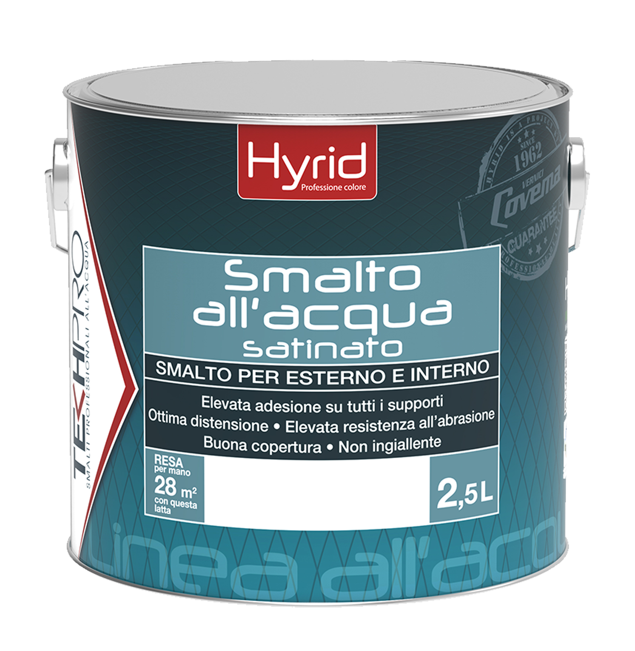 Hyrid smalto all'acqua satinato